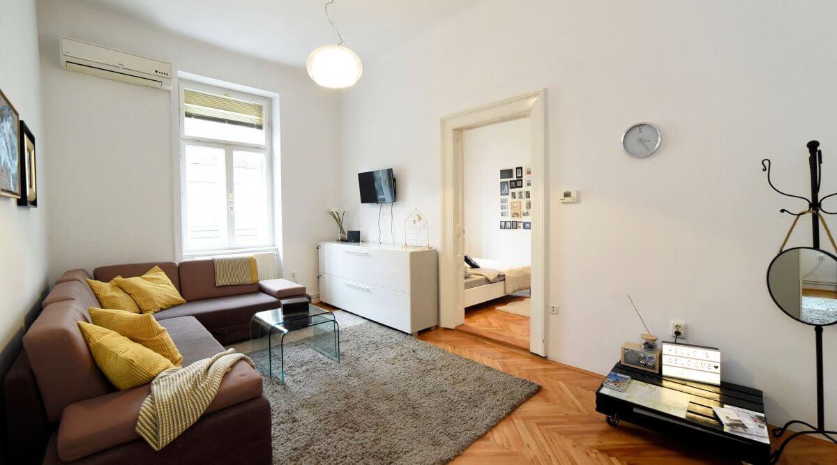 Jednosoban apartman za dnevni najam u centru Zagreba