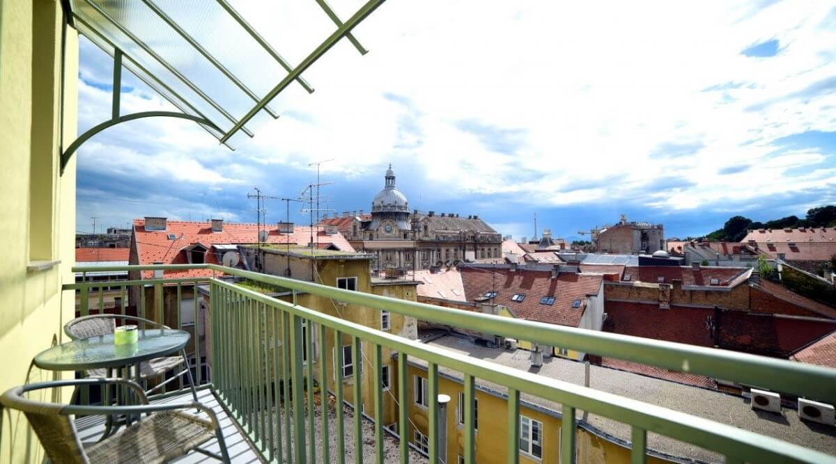 Jednosoban apartman s balkonom